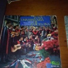 Discos de vinilo: TUNA UNIVERSITARIA DE BARCELONA. CLAVELITOS MB3. Lote 86440080
