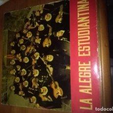Discos de vinilo: LA ALEGRE ESTUDIANTINA. TRISTE Y SOLA. MB2. Lote 86440188
