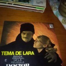 Discos de vinilo: TEMA DE LARA. BANDA ORIGINAL DE LA PELICULA DOCTOR ZHIVAGO.. Lote 86441860