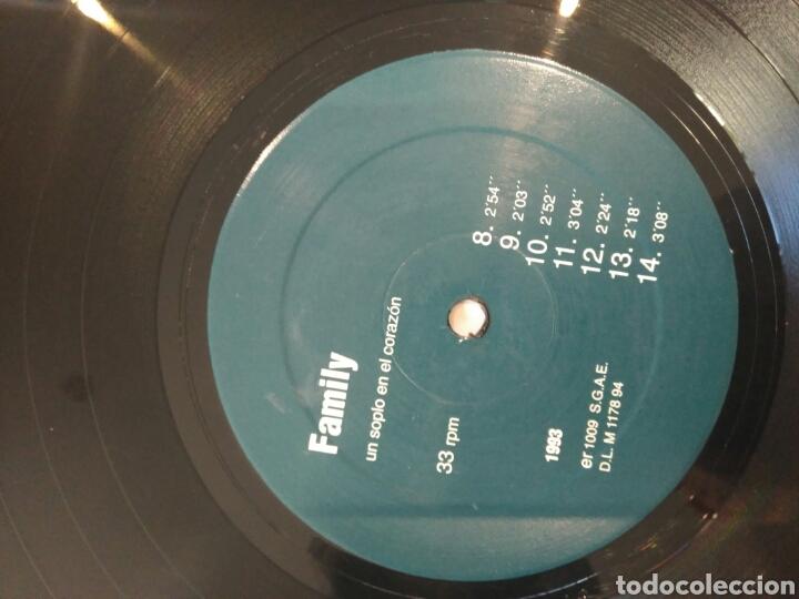 Discos de vinilo: Family Un soplo en el corazón er 1009 1993 contraportada con las letras - Foto 8 - 86438826