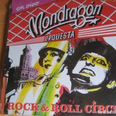 Discos de vinilo: ORQUESTA MONDRAGON 2LP EMI 1985 - EN VIVO ROCK N ROLL CIRCUS - GURRUCHAGA - IVAN ZULUETA. Lote 191748573