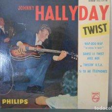 Discos de vinilo: JOHNNY HALLYDAY - TWIST. Lote 86477708