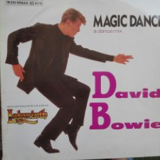 Discos de vinilo: DAVID BOWIE MAGIC DANCE. Lote 86483208