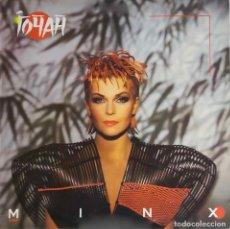 Discos de vinilo: TOYAH. MINX. LP INGLATERRA CON FUNDA INTERIOR CON LETRAS. Lote 86500356