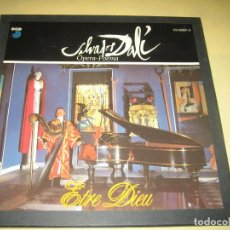 Discos de vinilo: SALVADOR DALI - OPERA-POEMA - CAJA CON TRES LPS Y HOJA - 1989 - NUEVO - VER FOTOS. Lote 86503860