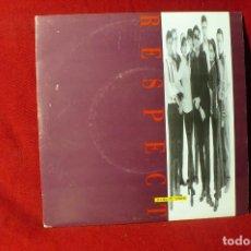Discos de vinilo: RESPECT / DAME TU AMOR / PROMO, GASA 1993.. Lote 86519788