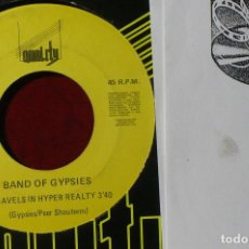 Discos de vinilo: BAND OF GYPSIES / TRAVELS IN HYPER REALTY / QUALITY QR.026.S / PROMOCIONAL 1991.. Lote 86519992