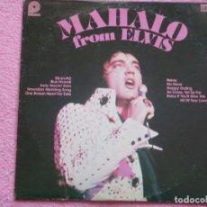 Discos de vinilo: ELVIS PRESLEY,MAHALO FROM ELVIS EDICION USA DEL 78. Lote 86524884