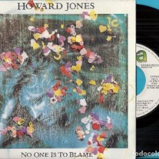Discos de vinilo: HOWARD JONES: NO ONE IS TO BLAME / THE CHASE. Lote 86530876