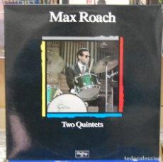 Discos de vinilo: MAX ROACH. TWO QUINTETS. MAESTROS DEL JAZZ. LP. Lote 86534564