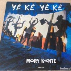 Discos de vinilo: MORY KANTE - 'YÉ KÉ YÉ KÉ' - 1987 - BARCLAY.. Lote 86538928