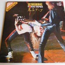 Discos de vinilo: SCORPIONS. 2 LP. TOKYO TAPES. EDICIÓN FRANCESA. RCA INTERNATIONAL 1978. Lote 86543844