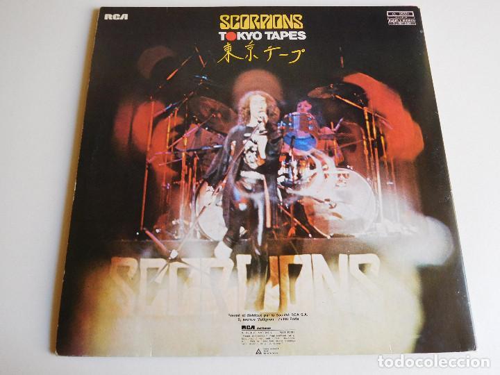 Discos de vinilo: Scorpions. 2 LP. Tokyo Tapes. Edición francesa. RCA International 1978 - Foto 2 - 86543844