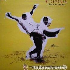 Discos de vinilo: VICEVERSA - LLEGO EL VERANO - MAXI-SINGLE MAX MUSIC 1995. Lote 86548108