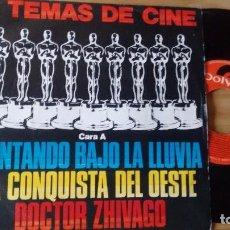 Disques de vinyle: SINGLE (VINILO) 6 TEMAS DE CINE AÑOS 80. Lote 86549052