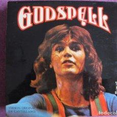 Discos de vinilo: LP - GODSPELL - VERSION ORIGINAL EN CASTELLANO (SPAIN, NOVOLA 1974, PORTADA DOBLE). Lote 167486745