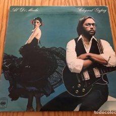 Discos de vinilo: AL DI MEOLA - ELEGANT GYPSY CON PACO DE LUCIA MÚSICA LP DISCO EN MUY BUEN ESTADO. Lote 86566744