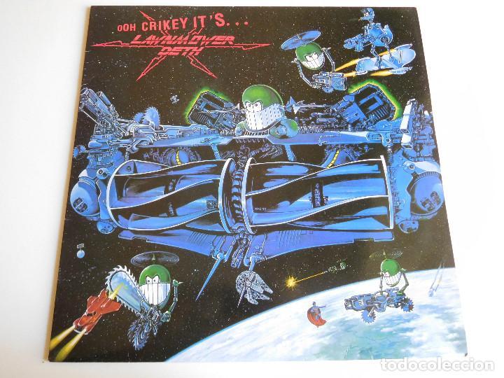 LAWNMOWER DETH. LP. OHH CRIKEY IT´S. EARACHE RECORDS 1990 (Música - Discos - LP Vinilo - Heavy - Metal)