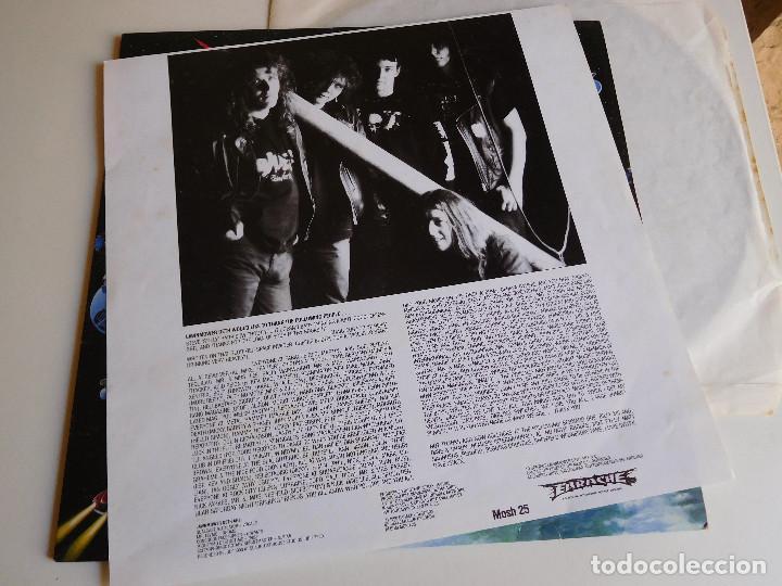 Discos de vinilo: Lawnmower Deth. LP. Ohh Crikey it´s. Earache Records 1990 - Foto 5 - 86572760