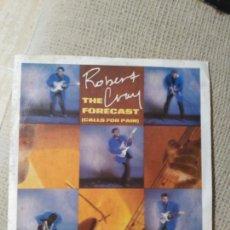 Discos de vinilo: ROBERT CRAY THE FORECAST. Lote 86574659