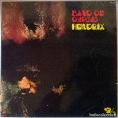 Discos de vinilo: JIMI HENDRIX. BAND OF GYPSYS. BARCLAY, FRANCIA 1970 LP (RARE COVER). Lote 86575124
