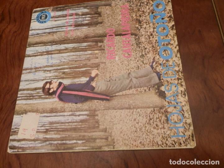 Discos de vinilo: EP Y CUATRO SINGLES, RICARDO CANTALAPIEDRA.1968,FUNDAS USO, VINILOS NUEVOS. - Foto 2 - 86588688