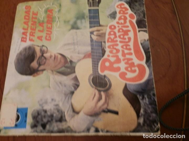 Discos de vinilo: EP Y CUATRO SINGLES, RICARDO CANTALAPIEDRA.1968,FUNDAS USO, VINILOS NUEVOS. - Foto 5 - 86588688