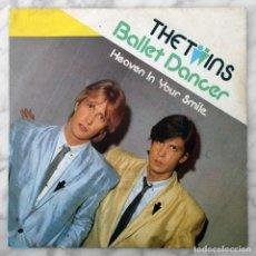 Discos de vinilo: SINGLE - THE TWINS - BALLET DANCER / HEAVEN IN YOUR SMILE - ARIOLA - 1984. Lote 86591308