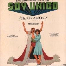 Discos de vinilo: SOY UNICO - BANDA SONORA ORIGINAL / LP MOVIE PLAY DE 1978 RF-2974. Lote 86599764