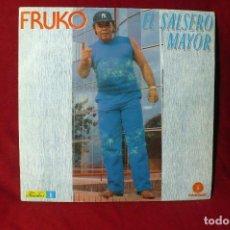 Discos de vinilo: FRUKO EL SALSERO MAYOR / EL BANANERO / TODOS BAILAN SALSA / FONOMUSIC / 1987.. Lote 86607284