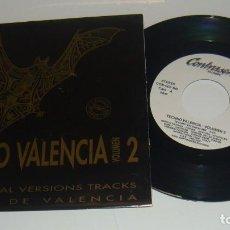 Discos de vinilo: TECHNO VALENCIA 2 - PROMO - TECHNO VALENCIA - MIX -. Lote 86613688
