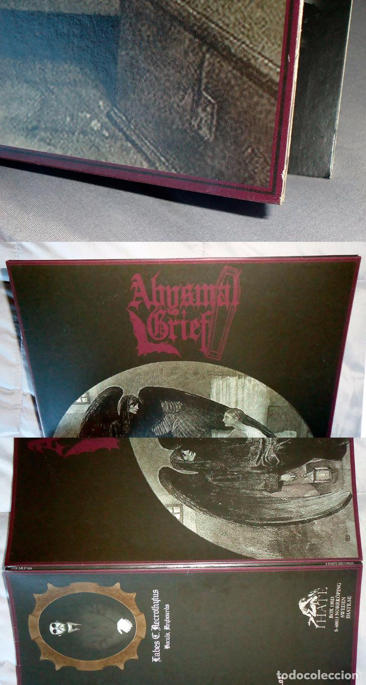Discos de vinilo: Abysmal Grief - Mors Eleison - 12 [I Hate Records, 2006 - Lim. 500] Doom Metal - Foto 2 - 52588190
