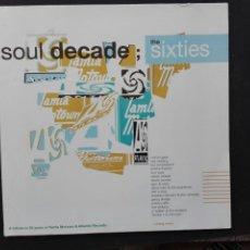 Discos de vinilo: THE SIXTIES SOUL DECADE 2 LPS. Lote 86616446