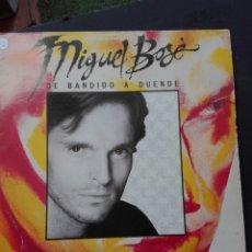 Discos de vinilo: MIGUEL BOSÉ DE BANDIDO A DUENDE. Lote 86616894