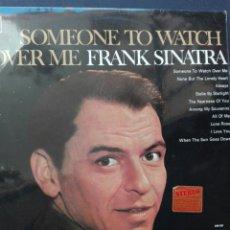 Discos de vinilo: FRANK SINATRA SOMEONES TO WATCH OVER ME. Lote 86617068