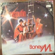 Discos de vinilo: BONEY M. - RASPUTIN. Lote 179527227