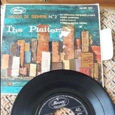 Discos de vinilo: THE PLATTERS. EXITOS DE SIEMPRE 2. MI CORAZON PERTENECE A PAPA, POBRE MARIPOSA, ABRAZALE...... Lote 86639448
