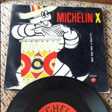 Discos de vinilo: MARCAS COMERCIALES - MICHELIN X / CALYPSO Y CHA CHA CHA / FLEXIDSIC. Lote 86645324