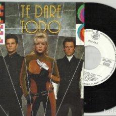 Disques de vinyle: OLÉ OLÉ SINGLE PROMOCIONAL TE DARÉ TODO 1990. Lote 86651760