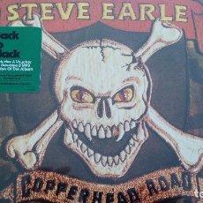 Discos de vinilo: STEVE EARLE COPPERHEAD ROAD LP INSERTO NUEVO 180 GRAMOS. Lote 86672600
