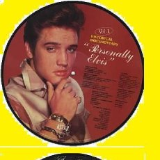 Discos de vinilo: ELVIS PRESLEY - PERSONALLY ELVIS !! ROCKABILLY, RARO PICTURE DISC, ORG EDT - COLLECTORS - IMPECABLE. Lote 86674192