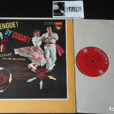 Discos de vinilo: ? XAVIER CUGAT AND HIS ORCHESTRA ?– MERENGUE! BY CUGAT! LP COLUMBIA ?– CL 733 ED. USA. Lote 86685428