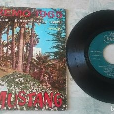 Discos de vinilo: LOS MUSTANG: SE PIANGI, SE RIDI + 3 (EMI REGAL 1965). Lote 86687544