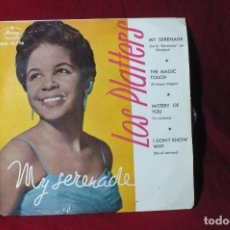 Discos de vinilo: LOS PLATTERS /MY SERENADE /THE MAGIC TOUCH / MISTERY OF YOU / I DON'T KNOW WHY / MERCURY/ 1959.. Lote 86705512