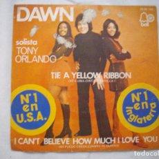 Discos de vinilo: SINGLE DAWN. Lote 86707784