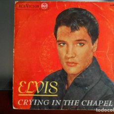 Discos de vinilo: ELVIS PRESLEY RCA 1966 - CRYNG IN THE CHAPEL +3. Lote 86708584