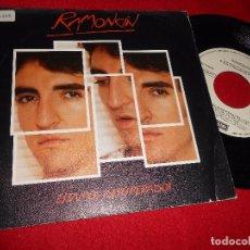 Discos de vinilo: RAMONCIN ESTAMOS DESESPERADOS/COMO FUEGO SINGLE 7'' 1985 EMI PROMO SPAIN. Lote 86711532