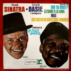 Discos de vinilo: COUNT BASIE Y FRANK SINATRA (EP1964) (NUEVO) HELLO DOLLY - MORE - FLY ME TO THE MOON - JAZZ. Lote 86724664