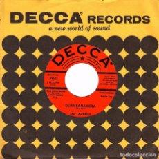 Discos de vinilo: THE TARRIERS - SAN FRANCISCO BAY BLUES + GUANTNAMERA SINGLE PROMO USA. Lote 86732240