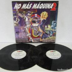Discos de vinilo: NO MAS MAQUINA 2 - 2 LP - WEA 1994 - SILENZI / TALKING BEATS / MARSHALL CRENSHAW. Lote 86739036